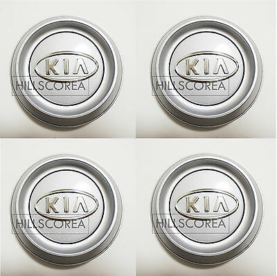 2003 2004 2005 2006 KIA SORENTO Genuine OEM Wheel Center Hub Cap 4EA 1Set