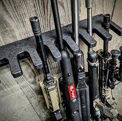 CLOSET GUN RACK TACTICAL HOSTLER 10 LONG GUN RIFLE GUNSAFE SEMI AUTOMATIC