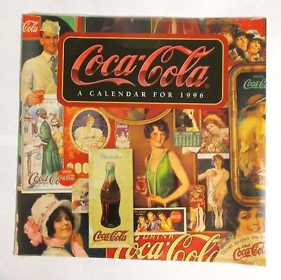 Coca Cola Calendar--Coca Cola with Vintage Ads (Sealed--NIP) 1996
