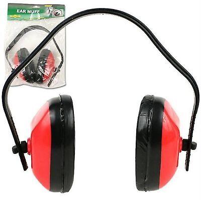 Hawk Er3 - Adjustable Noise Protection 33 Db Ear Muff Meets Ansi Spec Red I2-6