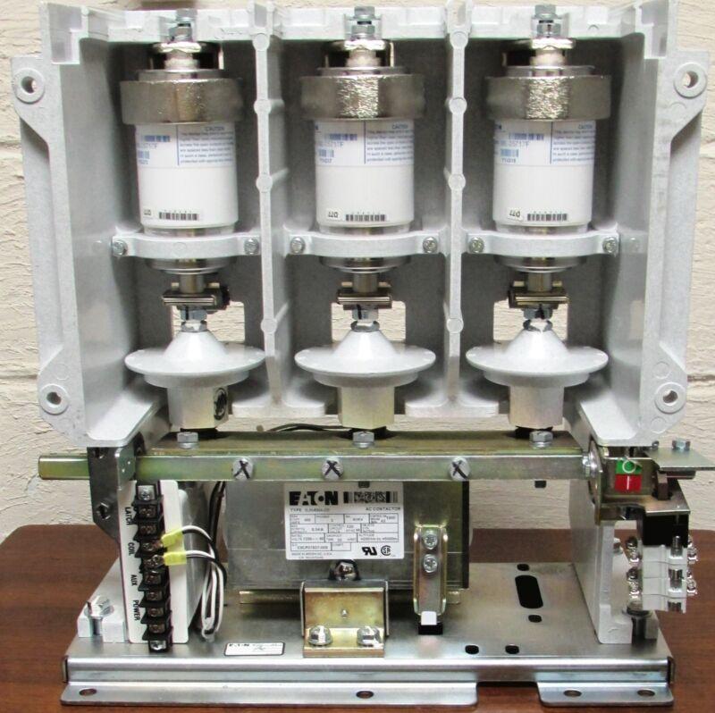 Eaton SLN048S6A Medium  Voltage Vacuum Contactor, 400 amp, 7200 Volt , New