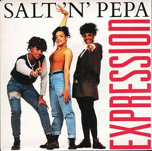 SALT-N-PEPA-expression-3-track-ep-F-182-uk-ffrr-7-PS-EX-EX