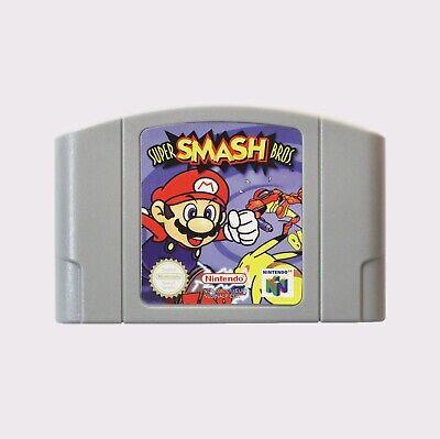 Super Smash Bros (Nintendo 64) N64 NEW PAL Fast Shipping