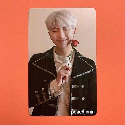 [US SELLER] BTS Memories of 2019 DVD Official Namjoon RM Photocard