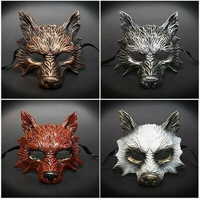 Wolf Animal Spirit Wall Decoration Costume Party Halloween Masquerade Mask (Animal Costume Party)