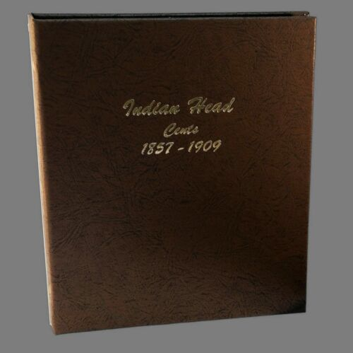 Dansco US Indian Head and Flying Eagle Cent Coin Album 1857 - 1909 #7101