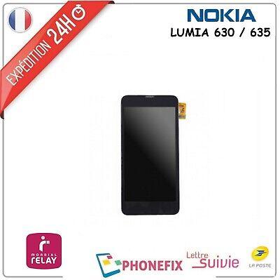 ECRAN COMPLET TACTILE LCD NOKIA LUMIA 635 630 MONTÉ SUR CHASSIS