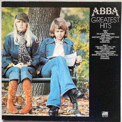ABBA - Greatest Hits - 1976 - Vinyl Record LP GATEFOLD