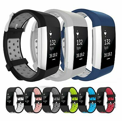 NEW Replacement Soft Sport Band Silicone Wrist Strap For Fitbit Charge 2 / 2 HR Jewelry & Watches