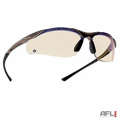 Bolle Contour Anti-Fog Anti-Scratch Safety Spectacles Glasses - ESP Lens