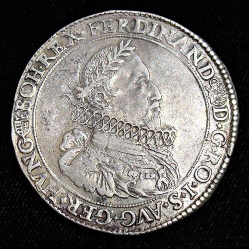 Hungary: Ferdinand II Taler 1622-KB, XF.