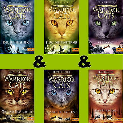 Warrior Cats Staffel 3 Band 1-6 - Die Macht der drei 1-2-3-4-5-6  - Erin Hunter