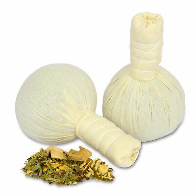 Kräuterstempel Thai-Herbal - 10x 75g - Linderung von Muskelschmerzen