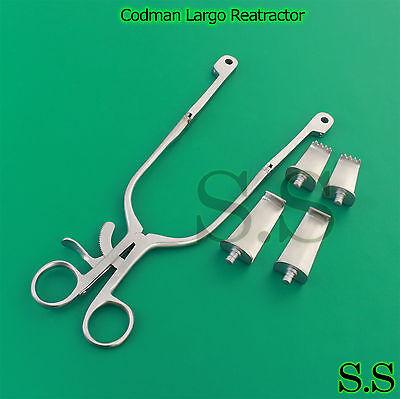 Codman Largo Cervical Retractor Blade 16x40mm Sharp16x55mm Blunt