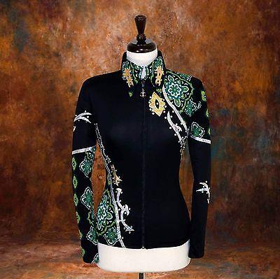 SMALL Showmanship Pleasure Horsemanship Show Jacket Shirt Rodeo Queen Western