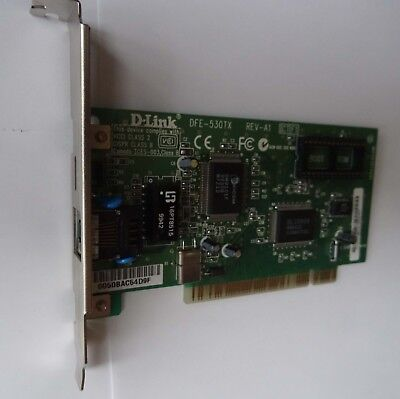 D-Link Lan-Karte PCI- D-Link DFE-530TX  - gebraucht, gebraucht gebraucht kaufen  Ammern