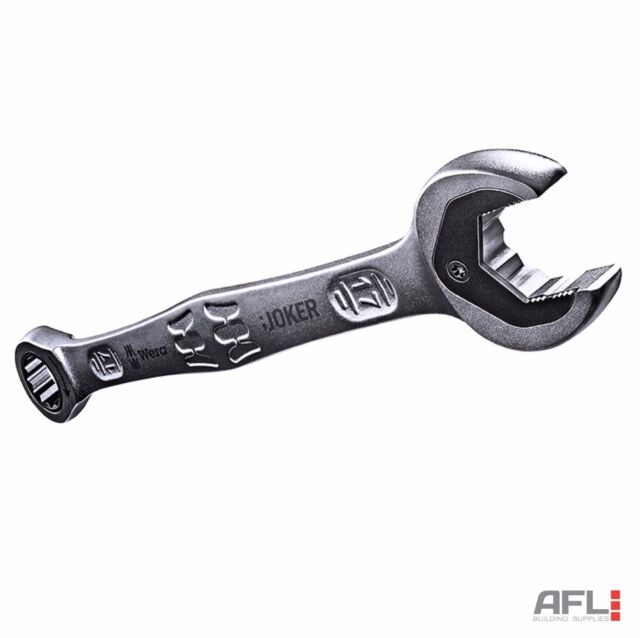 Wera Joker Metric Combination Ratchet Spanner Wrench - Sizes from 8mm to 19mm