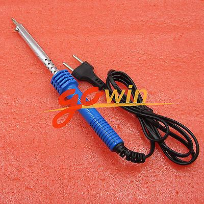 60W AC 220V-240V Electric Soldering Iron Welding Tool EU Plug top
