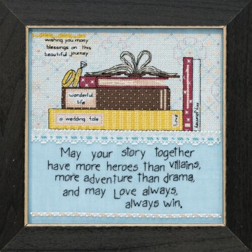 Your Story Beaded Cross Stitch Kit Curly Girl 2018 Mill Hill