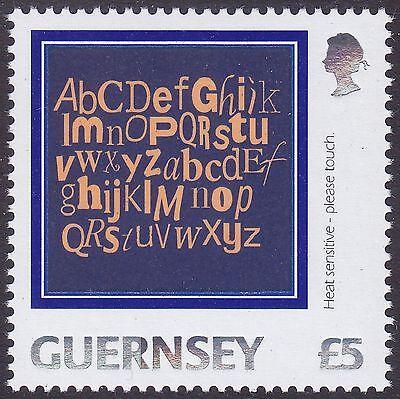Guernsey 2003 £5 Alphabet Letters Definitive UM SG1008 Cat £10.00