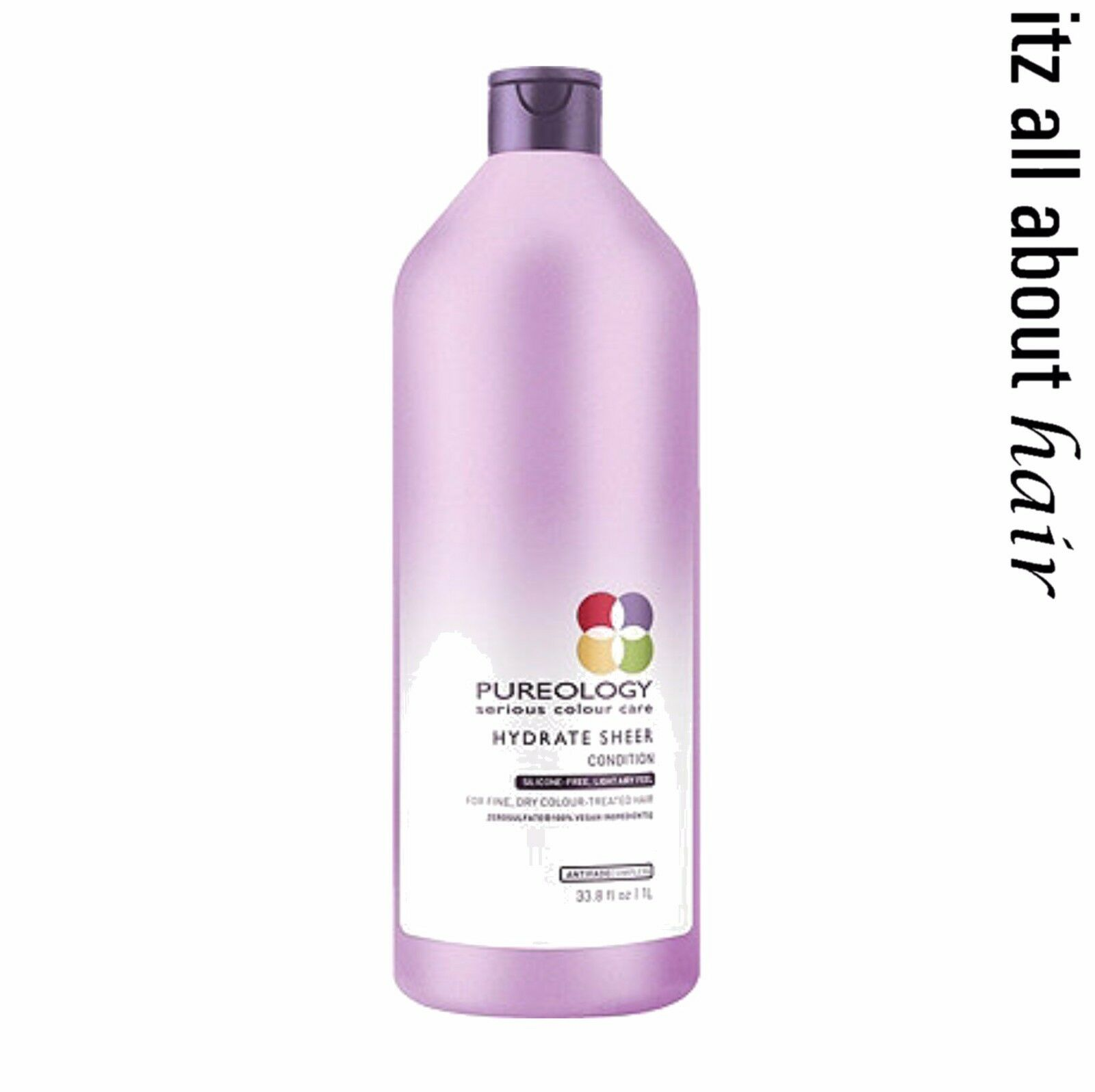 Pureology Hydrate Sheer Shampoo Conditioner 1000ml Duo