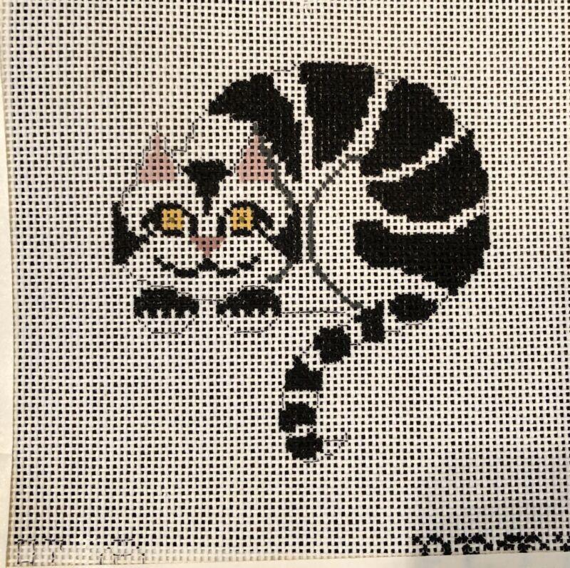 Petei Handpainted Needlepoint Canvas Cheshire Cat