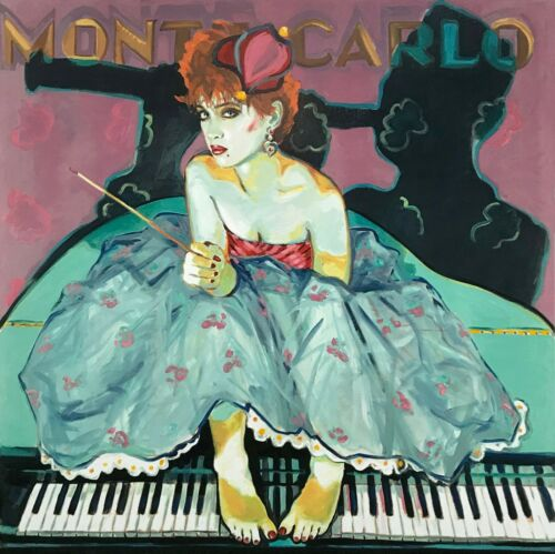 """Colleen Ross """"monte Carlo"""" 