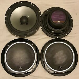 JL Audio C2-650 mids with crossovers and tweeters