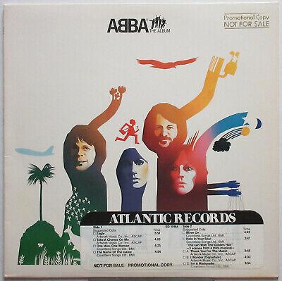 ABBA The Album 1977 US ORG PROMO Issue LP Benny BJORN Agnetha FRIDA Minty!