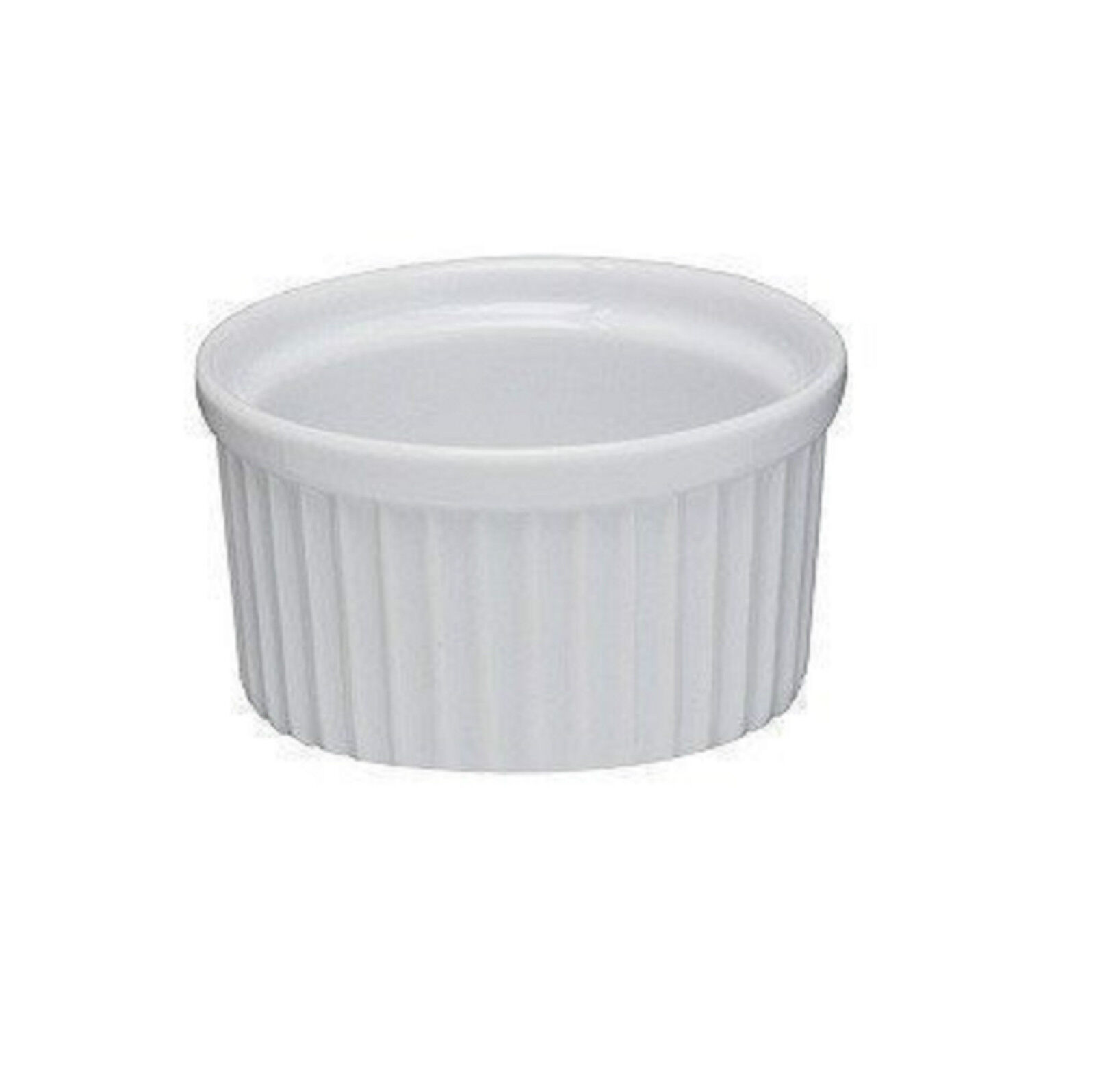 White Ceramic Ramekin 9cm - Set of 6