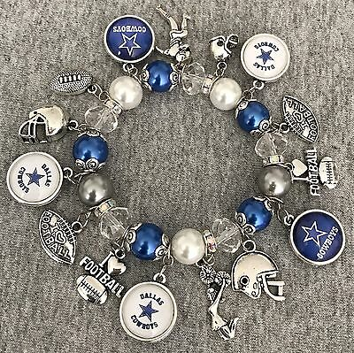 Dallas Cowboys charm bracelet - Dallas Cowboys Charm Bracelet