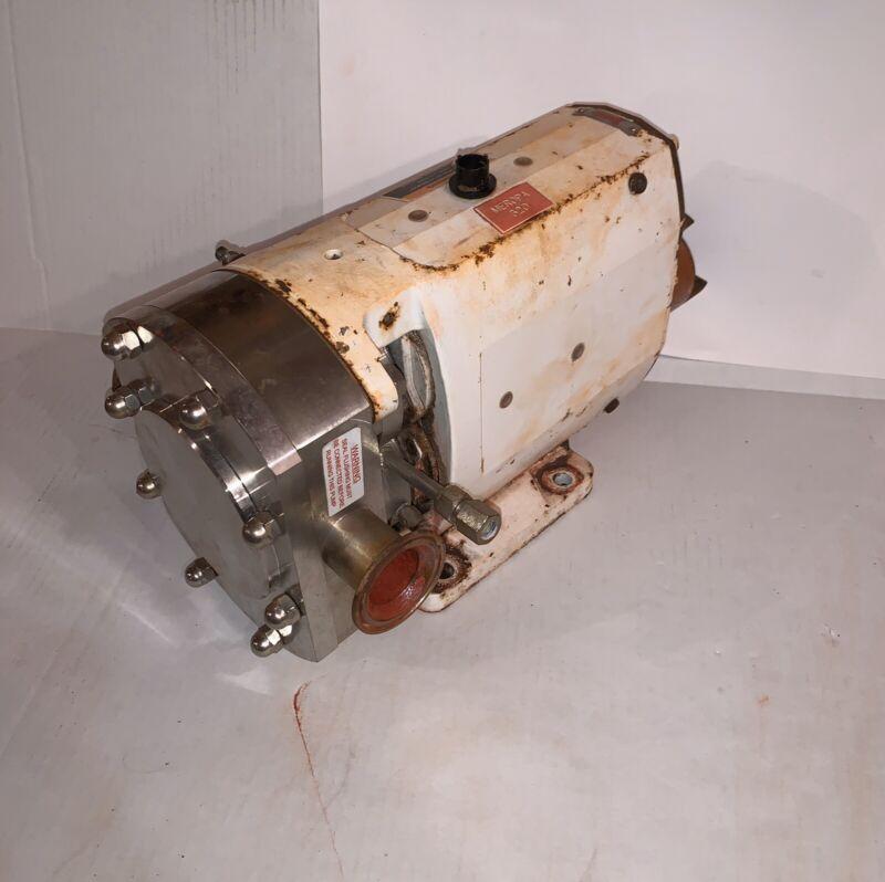 Clean Alfa Laval Rotary Lobe Pump SRU3NLS-20MHE4W