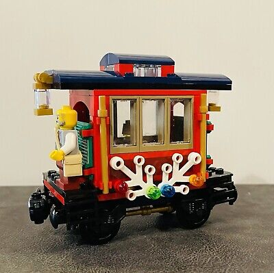 LEGO 10254 Creator Winter Holiday Train Caboose For Replacement Parts 2016