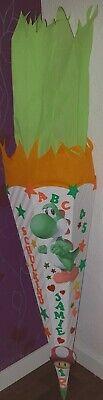 Schultüte Zuckertüte Yoshi Groß Schulanfang Einschulung Jungen Super Mario