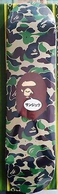 Bape I.T. shop 30 anniversary collaboration skateboard deck new a bathing ape