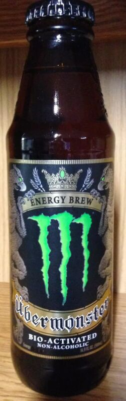 Monster Energy Drink  UBERMONSTER  GLASS Discontinued Limited Edition
