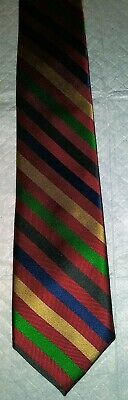 1960s – 70s Men's Ties | Skinny Ties, Slim Ties Vintage Men's ROOSTER Neck TIE From the 1960's Striped Perfect Condition RETRO!! $8.95 AT vintagedancer.com