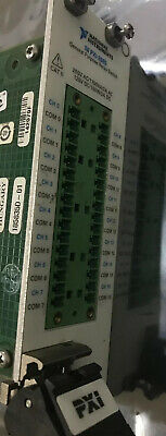 National Instruments Pxi-2565 Ni High-power Relay Switch Card 16 Channels Used