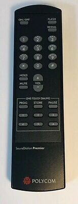 Genuine Oem Polycom Soundstation Premier Remote Control Tct0203