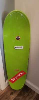 Supreme Motion Logo Cruiser Skateboard Deck Lime
