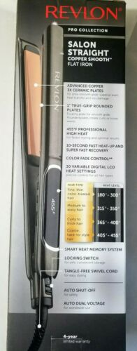 Revlon Ceramic Straightener, 1 Inch Barrel, 1 ea