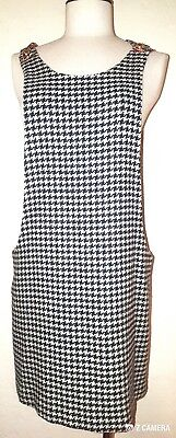 Anna Sui Houndstooth Mini Skirt Jumper Size M a Treasure to Have