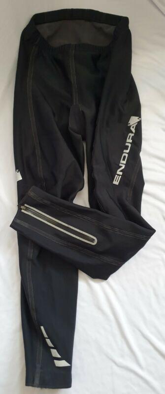 endura waterproof warm trousers Pants L THERMO TIGHT inside fleece windproof blk