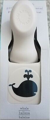 Rare Martha Stewart Whale Craft Punch - New In Package