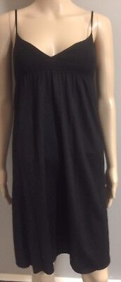 Sleeveless  Black wool Baby Doll Dress by Narciso Rodriguez sz 2 IT 38 for sale  Shipping to India