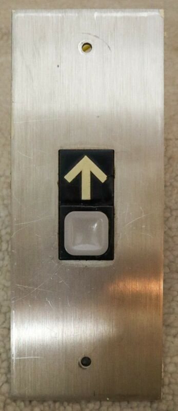AUTHENTIC Vintage Dover Impulse Elevator Call Station Panel
