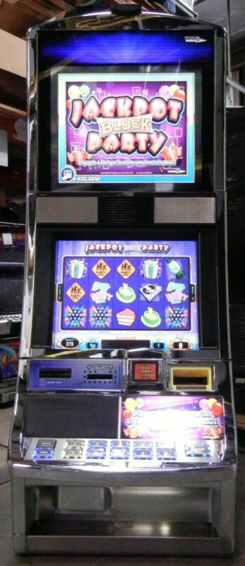WMS JACKPOT BLOCK PARTY BB1.5 BB2 SLOT SOFTWARE GAME ONLY WILLIAMS BLUEBIRD 2