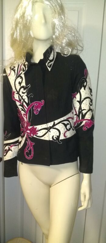 Berry fit ladies size 12 Western Show Coat  RODEO