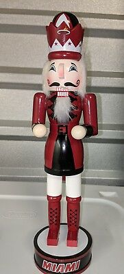 Miami Heat Nutcracker Decorative - Miami Heat Decorations
