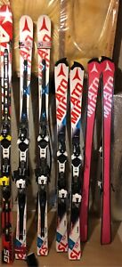 Atomic Redster GS and Slalom race skis